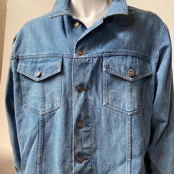 Classic Style Denim Jacket - sz XL
